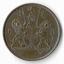 Napolionic Conections British East India Co St Helena Isle 1821 1/2 Penny KM# A4