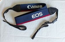 Canon Vintage Blue and Red Fabric Camera Strap