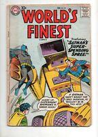 World's Finest #99 KIRBY GREEN ARROW 1959 Superman & Batman ROBOT COVER G/VG 3.0