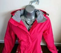 £170 animal ski jacket skiing coat 8 s pink waterproof women snowboarding snow
