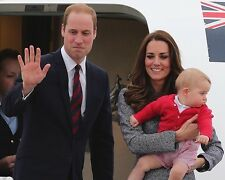 Kate Prince  William and George Awesome Plane 10x8 Photo