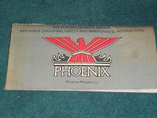 1978 PONTIAC PHOENIX OWNER'S MANUAL ORIGINAL GUIDE!