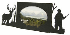 "Buck Deer Hunting Oval Picture Frame 3.5""x5"" - 3""x5"" H  Hunter Hunt"
