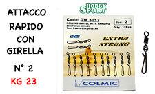 GIRELLA con ATTACCO RAPIDO GM 3017 - N° 2 - SURFCASTING COLMIC