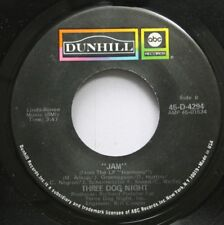 Rock 45 Three Dog Night - Jam / An Old Fashioned Love Song On Dunhill Abc Record