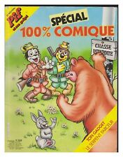 PIF  100% COMIQUE  SPECIAL   N°  43 DE  1985 BE+