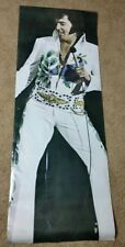 Elvis Presley Life Size Door Poster Pacific Design 1970's VTG Huge Giant 26x74