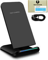 Fast Wireless Qi Charger Quick Universal Charging Station Stand Dock iPhone Sams
