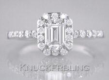 Cluster Very Good Cut VS1 Fine Diamond Rings