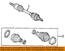 FORD OEM Front Drive-CV Shaft Axle Assy 7T4Z3A428D