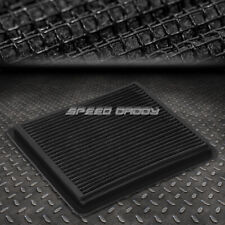 FOR 05-10 MUSTANG GT SHELBY BLACK REUSABLE&WASHABLE HIGH FLOW PANEL AIR FILTER