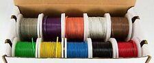 WK-10220BK Hook-Up Wire -Solid-22 Gauge-200 ft 10 Asst Colors-**NO BOX/NO SPOOLS