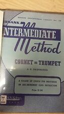 Rubank: Intermediate Method For Cornet Or Trumpet: Music Score (K2)