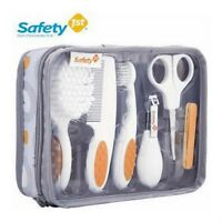 Safety 1St 8 Pcs Baby Essential Nursery Bath Care Grooming Kit + Pouch- Unisex