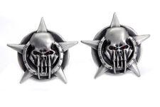 Skull on Star License Plate Topper Set For Harley-Davidson