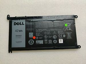 WDX0R Battery 42Wh For Dell Inspiron 15 5567 5568 13 5368 7368 7569 7579 WDXOR B