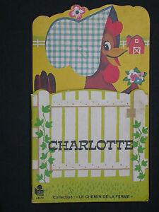 Charlotte - éd. LITO 44404 Coll. Chemin de la ferme - Première lecture 1982 Lire