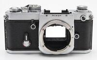 Nikon F2 F 2 F-2 Gehäuse Spiegelreflexkamera  Body silber ohne Sucher