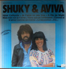 Israelische French 1977 LP-SHUKI & AVIVA-Die Hits-Hotel California/Comme Si