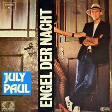 """7"""" JULY """"JULIUS"""" PAUL Engel der Nacht / Splitternackt JUPITER 1984 NEUWERTIG!"""