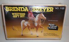 Vintage 1982 Sealed Brenda Breyer Western Gift Set No 1120 NOS In Box