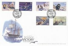 Isle of Man 2007 FDC  The Voyage Victory to the North Pole Full Set Stamps
