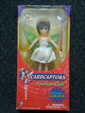 Cardcaptors Fashion Doll Green Fairy Sakura Nib Japanese Anime 2000