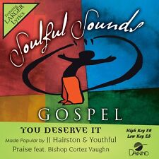 JJ Hairston & Youthful Praise  - You Deserve It -  Accompaniment CD NEW