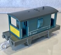 2006 Blue BRAKE VAN E178569 Caboose  - Thomas & Friends Trackmaster Train - VGUC