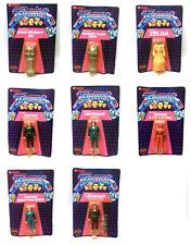 "Cult 80s Vintage TV Gerry Anderson TERRAHAWKS full set 4"" toy figures MOC Lot"
