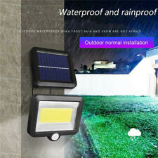 100 LED Solar Power Motion Sensor Light Outdoor Garden Floodlight Security Lamp#