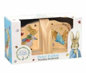 Rainbow Designs Beatrix Potter Peter Rabbit Wooden Bookends