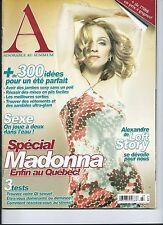 MADONNA *ADORABLE* FRENCH MAGAZINE JULY - AUG 2006 VERY RARE !