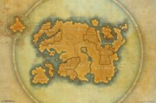 ELDER SCROLLS ONLINE - MAP - VIDEO GAME POSTER - 22x34 - 15733