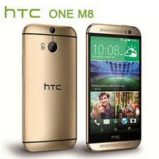 Android 5'' Unlocked HTC One M8 32GB 4G LTE Quad-core Smart Phone - Amber Gold