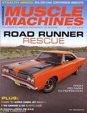 HEMMINGS MUSCLE MACHINES July 2015 Issue 143 Z/28 4-4-2 Mustang SCJ 'Cuda