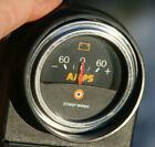 Stewart Warner 2 116 Vintage 60-60 Amp Gauge In Plastic Holder Panel