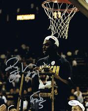 Ray Jackson Autographed Michigan Basketball Fab 5 Five 8x10 Photo JSA COA 4