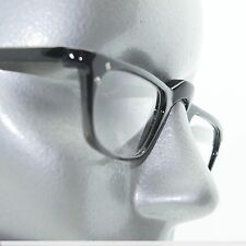Gray Black Ombre Half Eye Reading Glasses Rhinestone Accent Sophisticated +1.00