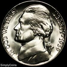 1939 Jefferson Nickel ~ Gem Bu Uncirculated ~ Us Coin Mq
