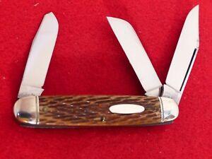 Schrade Walden 1940-50 era mint 856 peach seed cattle knife