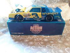 RARE 1:24 Dale Earnhardt #3 WRANGLER DieCast NASCAR action racing