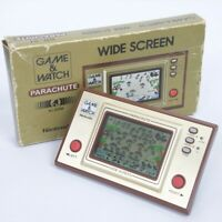 LCD PARACHUTE Wide Screen Game Watch PR-21 Boxed Tested Nintendo JAPAN 2526
