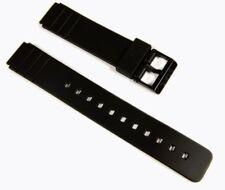 Casio Ersatzband Uhrenarmband Resin 16mm schwarz MQ-24 MQ-58 MQ-104 EB-3011 7160