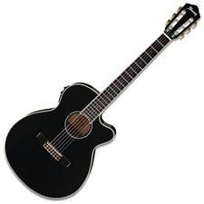 Ibanez AEG10NII-BK - AEG Series Electro-Acoustic Nylon Guitar, Black - B Stock