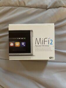 Novatel Wireless MiFi2 Mobile Hotspot 3G/4G LTE (5792) - Brand New