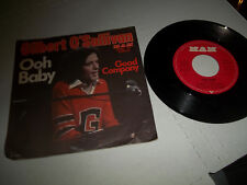 "GILBERT O'SULLIVAN 45 PS 7"" GERMAN MAM 1973 OOH BABY / GOOD COMPANY EXCELLENT"