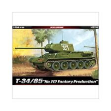 Academy 13290 T-34/85 No.112 Factory Production Tank Combat Vehicle Assembly