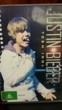 Justin Bieber Teen Idol DVD MOVIE - FREE POST *