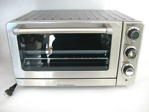 Cuisinart Toaster Oven Broiler with Convection, Stainless Steel New TOB-60N1
